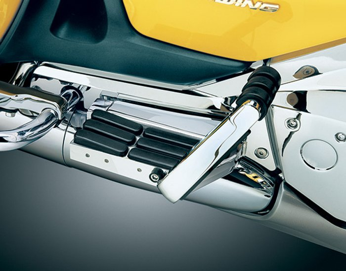 Chrome Pass Floorboards FOR HONDA 1975-1983 Gold Wing GL1000 GL1100 Goldwing
