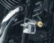 Universal Chrome Helmet Lock 7/8 - 1 1/4 Round