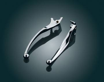 Chrome Wide Blade Levers