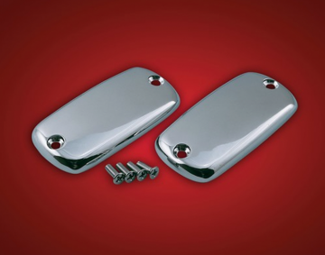 Smooth Chrome Master Cylinder Covers