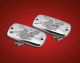 Chrome Free Spirit Master Cylinder Covers
