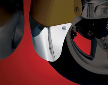 Chrome Front Fender Extension