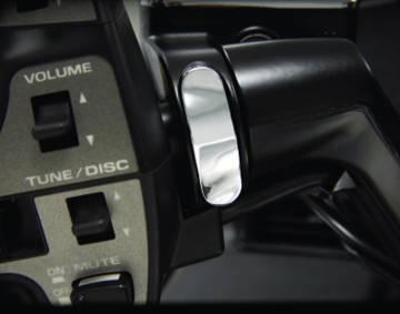 Chrome Handlebar Clamp Plugs