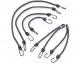 Black Bungie Cords Multiple Sizes