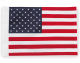 USA Pole Flags in 6x9 or Large 10x15 Parade Size