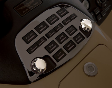 Chrome Radio Knob Set for GL1800