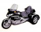 Embroidered GL1800 Iron-On 3x5 Trike Patches All Colors