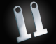 Chrome Helmet Lock Extension Set