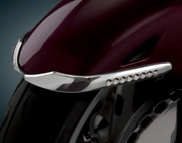 Chrome LED Lighted Fender Accent