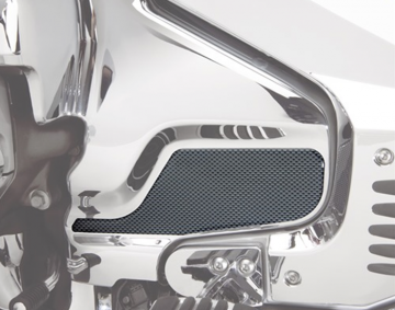 Carbon Fiber Side Cover Engine Scuff Pads for GL1800
