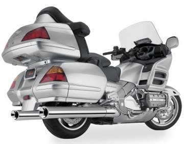 Exhaust Muffler Set w/Chrome Billet Tips for GL1800