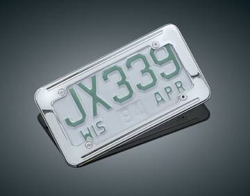 Small License Plate Frame