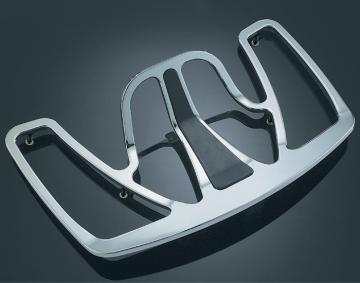 Kuryakyn Chrome Luggage Rack w/Rubber Inlay for GL1800