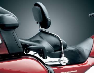 Kuryakyn Driver Backrest w/Storage Pouch for GL1800