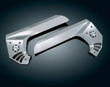 Kuryakyn Chrome Frame Covers w/Rubber Inlay for GL1800