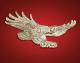Gold Screaming Eagle Emblem