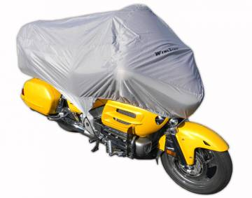 Deluxe Grey Half Cover for Goldwing