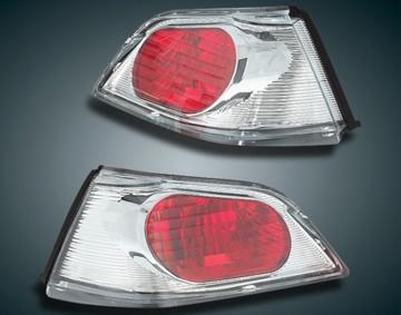 Red Lense Trunk Lights