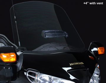 F4 Scratch Resistant Clear or Tinted Windshields for GL1800
