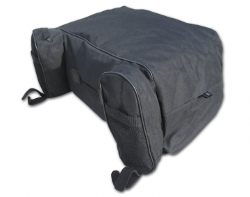 Deluxe Luggage Rack Bag w/Rain Cover