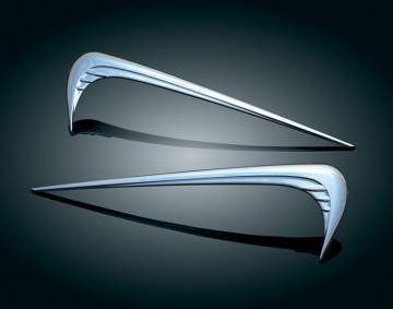 Chrome Saddlebag Emblems