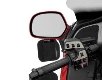Wing Deflectors™ Mirror Mount Hand Air Deflectors