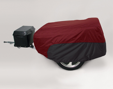 Cranberry/Black Trailer Cover w/Pouch