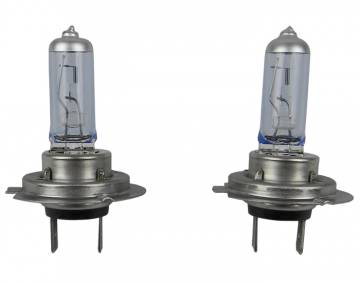 H7 55 Watt Hi/Low Beam Bulb Set