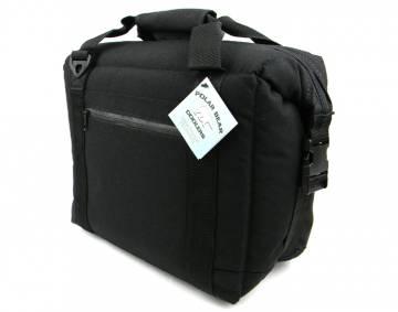 Black 12 Pack Cooler Bag