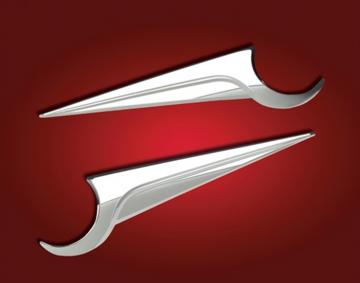 Side Fairing Emblem Accent for GL1800 2nd Gen