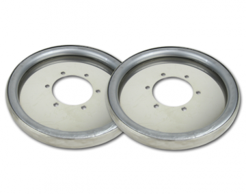Centramatic Stainless Wheel Balancers for GL1800 Trike