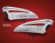 LED Saddlebag Scuff Accents for GL1800 2nd Gen, F6B
