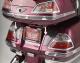 LED Trunk & Saddlebag Moldings w/ Red & Clear Lenses for GL1800