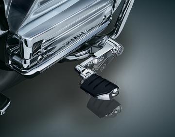 Ergo III Chrome Adjustable Arm Cruise Mount w/ Dually Pegs