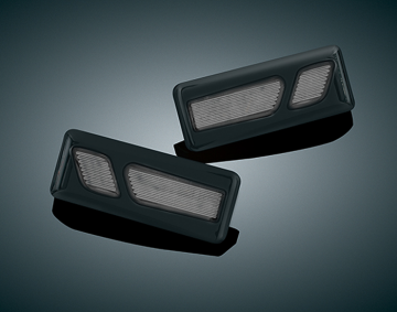 Gloss Black LED Front Reflector Conversion