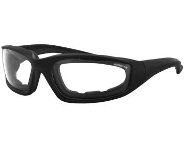 Bobster Foamerz II Black/Clear Sunglasses