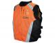 Mens Textile Military Spec Vest Orange