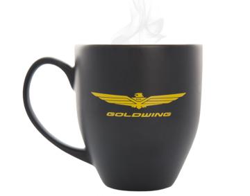 Wide Style 16oz Bistro Mug w/Goldwing Logo