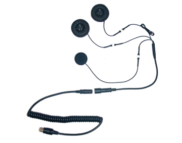 5 Pin Headset w/ Full Face Microphone for Goldwing