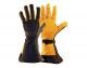 Mens DeerSports Gloves Black/Tan