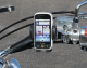 eCaddy Standard Universal Phone Mount Chrome for Gold Wing