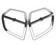 Chrome Front Speaker Grills for GL1800