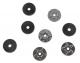 Chrome Star Trunk Rack Pads & Washers