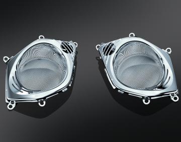 LED Lighted Chrome Speaker Grill for GL1800/F6B