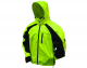 Toadz Kikker II Reflective Rain Jacket Hi-Viz Lime/Black