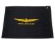 Golf Towel w/ Official Goldwing Logo Black