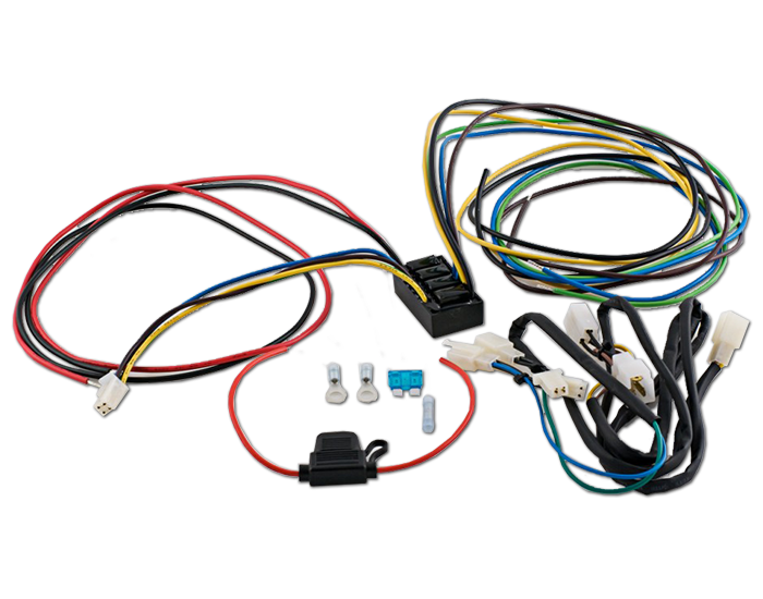 Isolated Trailer Wire Harness for GL1800 2nd Gen on