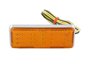 Amber LED Lighted Reflector