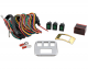 Economy Accessory Lighted Switch Kit w/ Voltmeter and Plate