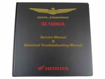 Factory Service Manuals for GL1800 2012-2013